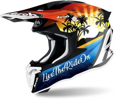Airoh Twist 2.0 Lazyboy Motocross Helmet Image