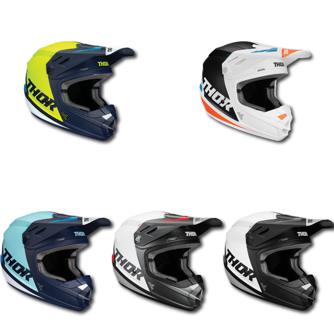 Thor Sector Blade Youth Helmet Image