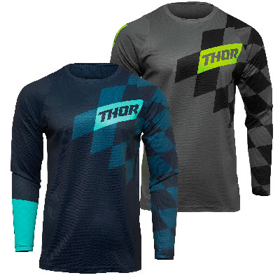 Thor Sector Birdrock Motocross Youth Jersey Image