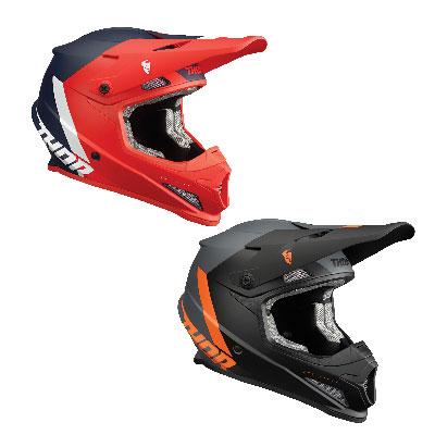 Thor Sector Chevron Motocross Helmet Image