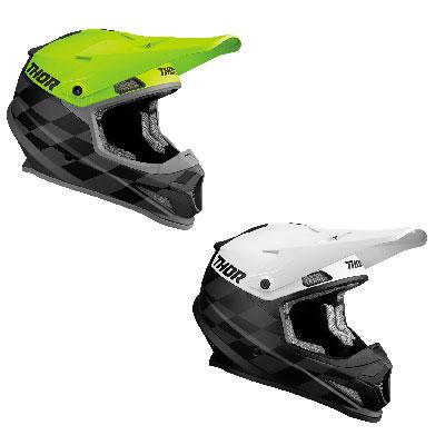Thor Sector Birdrock Motocross Helmet Image
