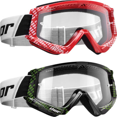 Thor Combat Cap Youth Goggles Image
