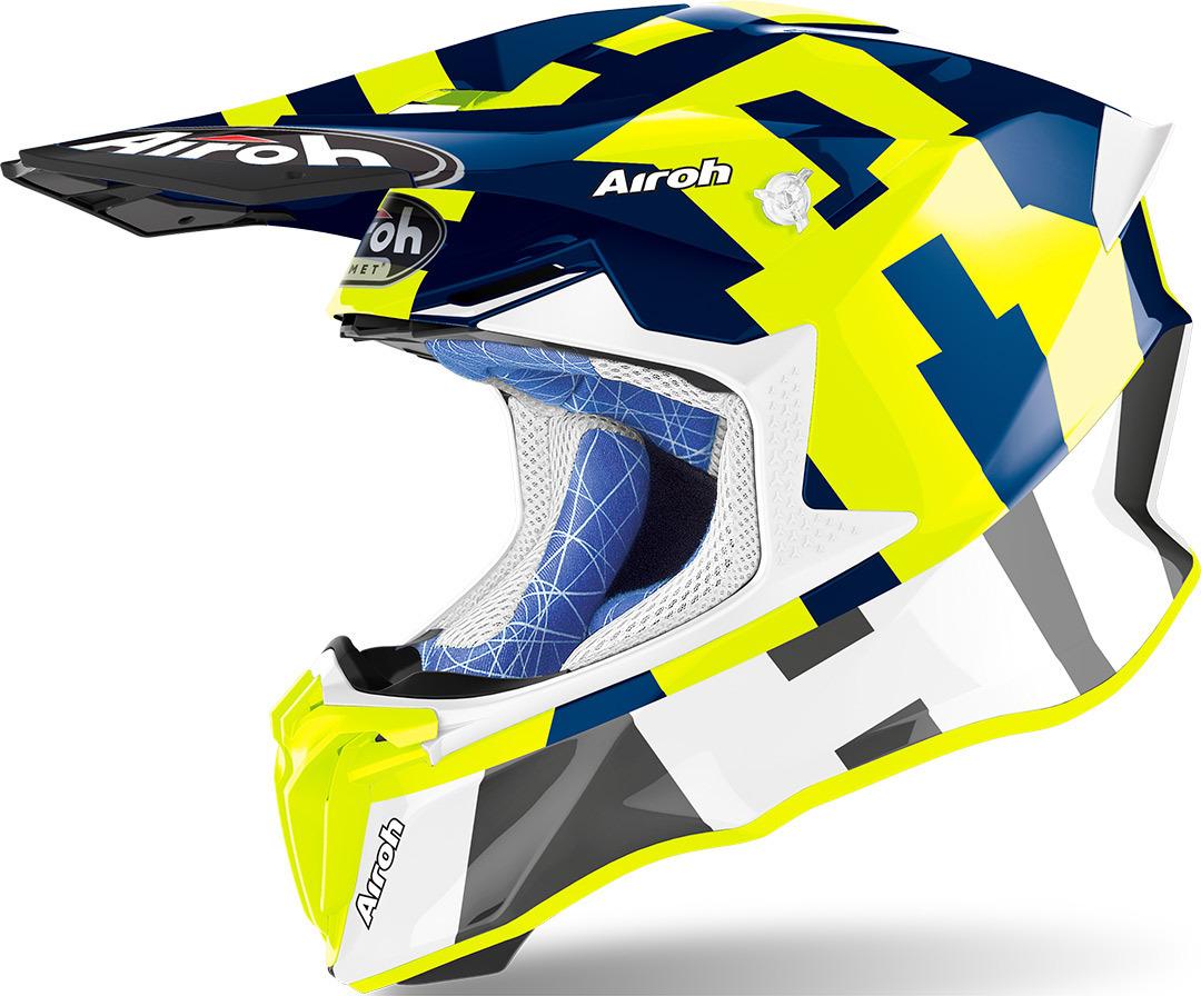 Airoh Twist 2.0 Frame Blue Gloss Image
