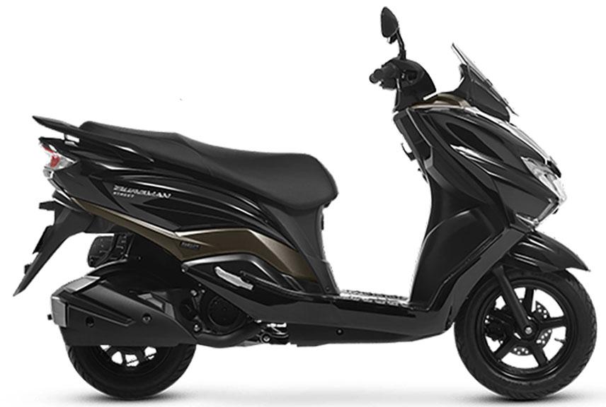 Suzuki Burgman UB125 Scooter Image