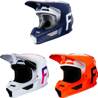 FOX V1 Werd Motocross Helmet Image
