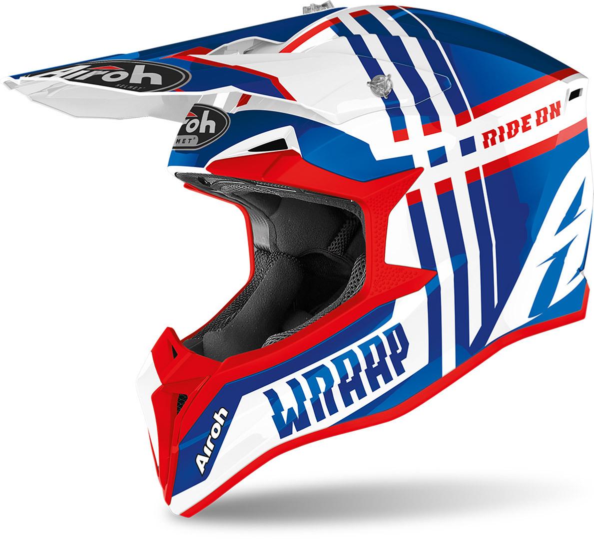 Airoh Wraap Broken Helmet Image