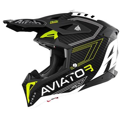 Airoh Aviator 3 Primal 3K Carbon Motocross Helmet Image
