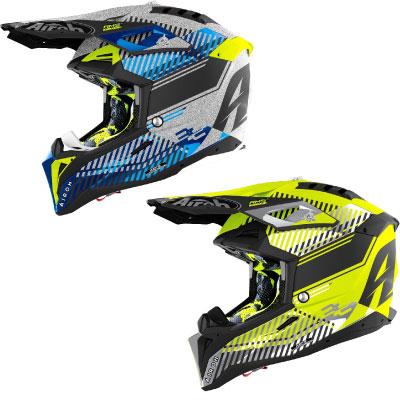 Airoh Aviator 3 Wave Carbon Motocross Helmet Image