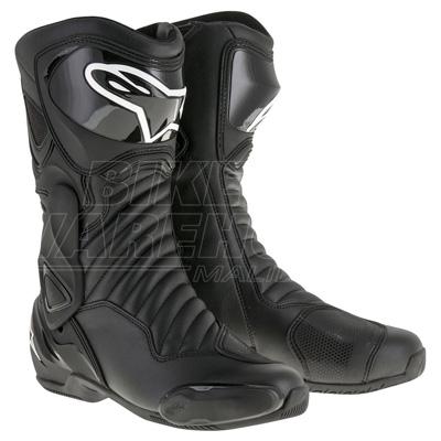 Alpinestars S-MX 6 V2 Boots Black Image