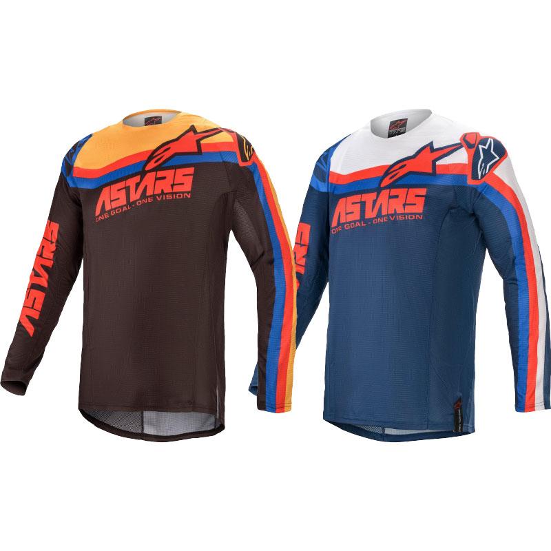 Alpinestars Techstar Venom Motocross Jersey Image