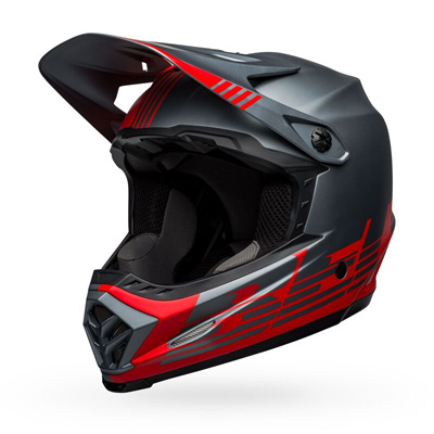 Bell Moto-9 Youth Mips Louver Matte Red/Grey Image