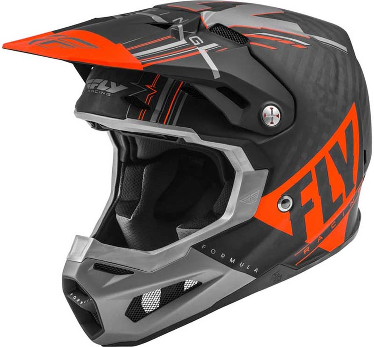 Fly Formula Vector Helmet - Orange Image