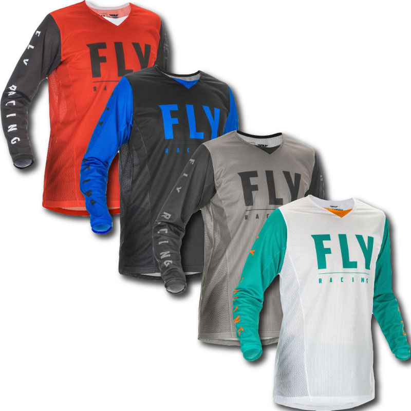 Fly Kinetic Mesh Jersey Youth Image