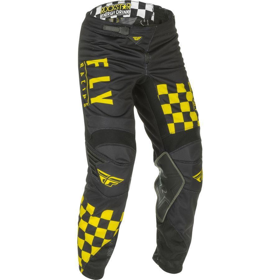 Fly Kinetic Mesh Pants - Rockstar Image