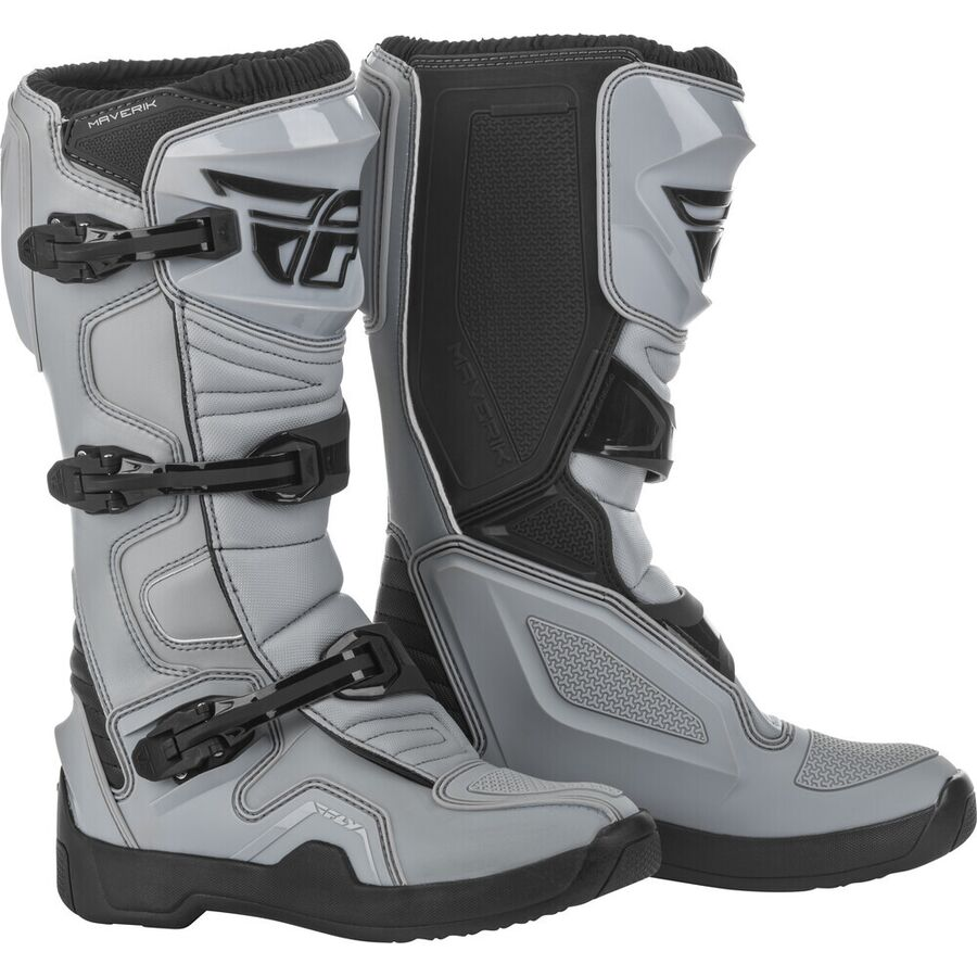 Fly Maverik Boots - Grey/black Image