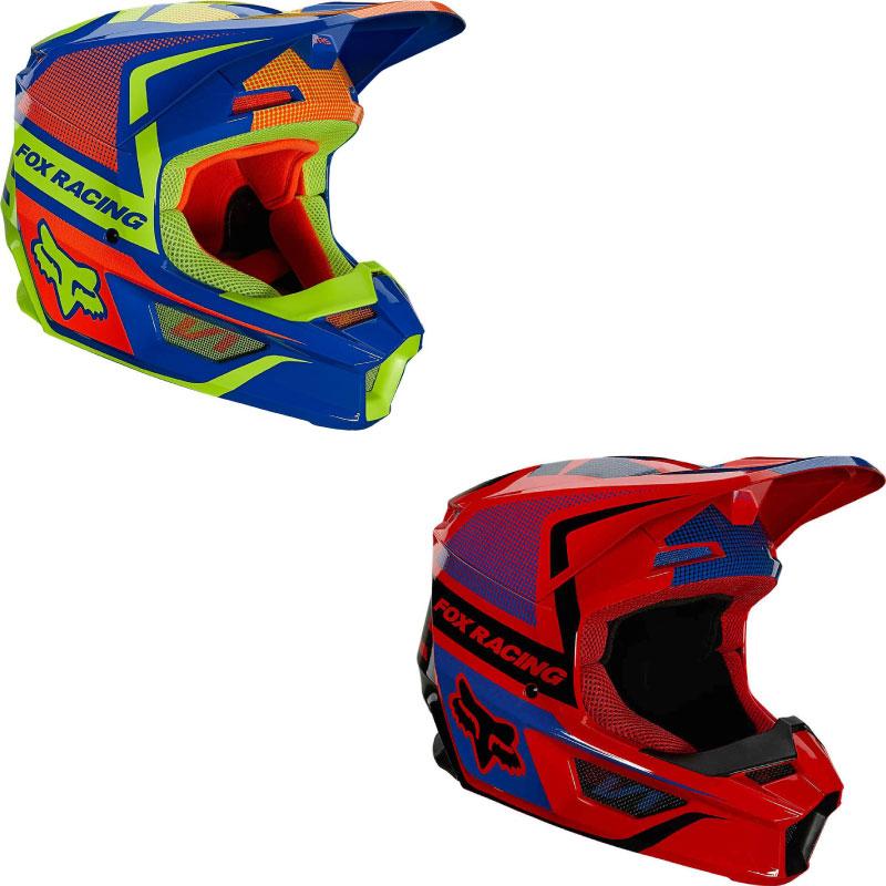 FOX V1 Oktiv Youth Motocross Helmet Image