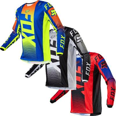 FOX 180 Oktiv Motocross Jersey Image