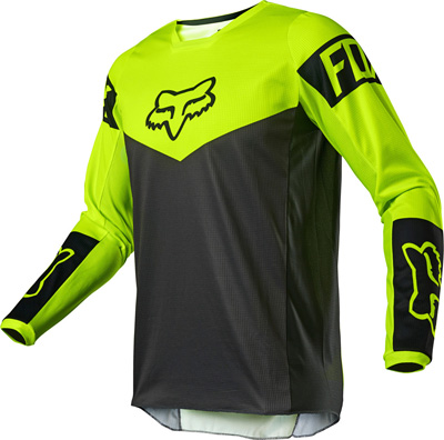 FOX 180 REVN Motocross Jersey Image