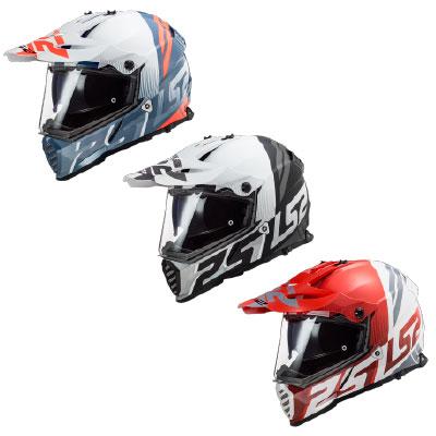 LS2 MX436 Pioneer Evo Evolve Adventure Helmet Image