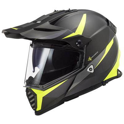 LS2 MX436 Pioneer Evo Router Adventure Helmet Image