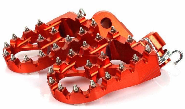 RaceCraft Billet Race Foot pegs KTM Image