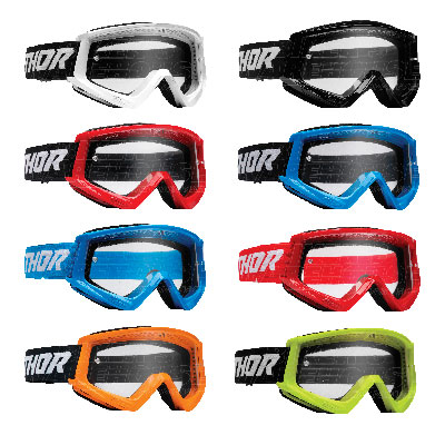 Thor Combat Racer Goggle - Youth Image