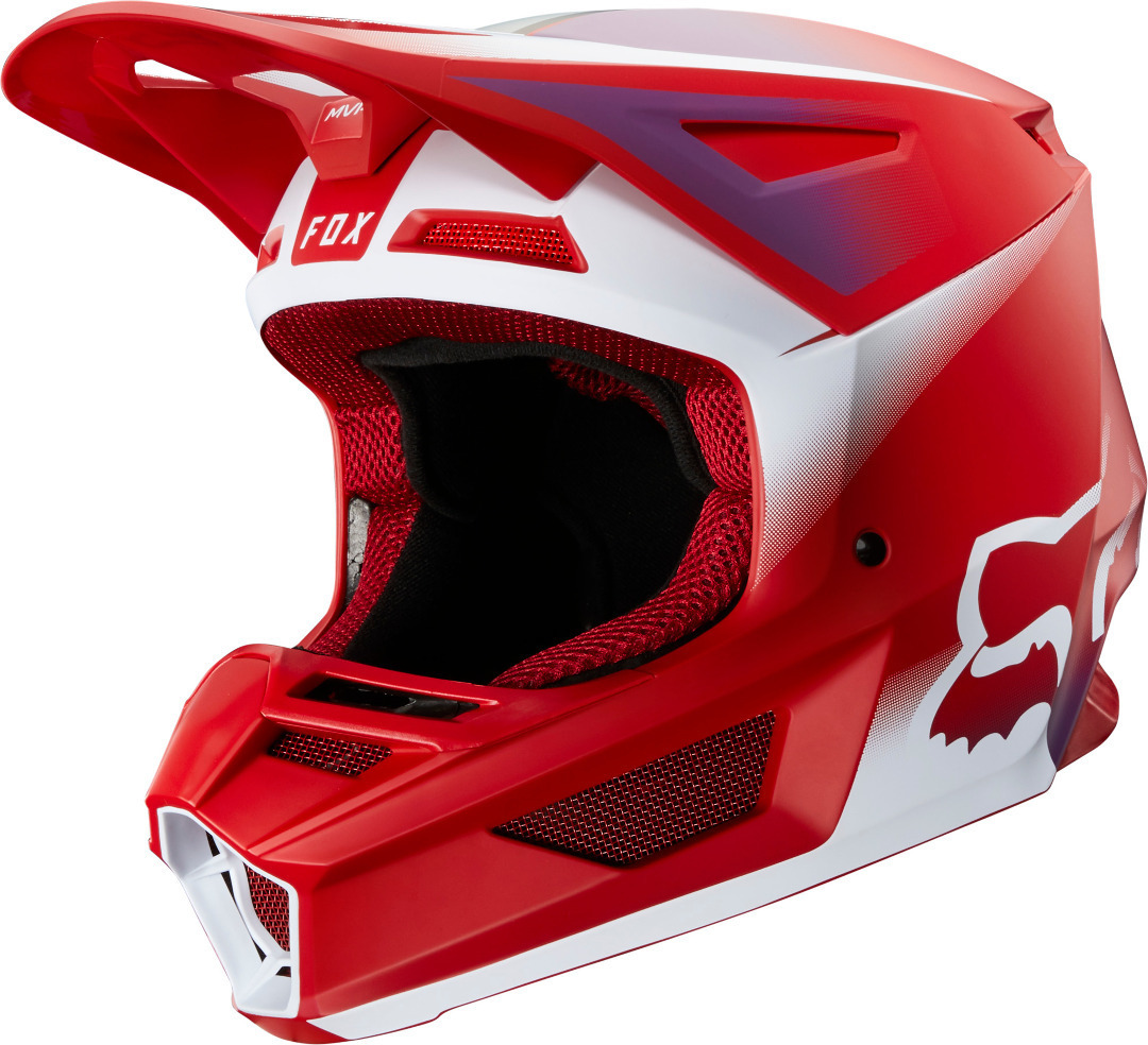 FOX V2 Vlar Motocross Helmet Image